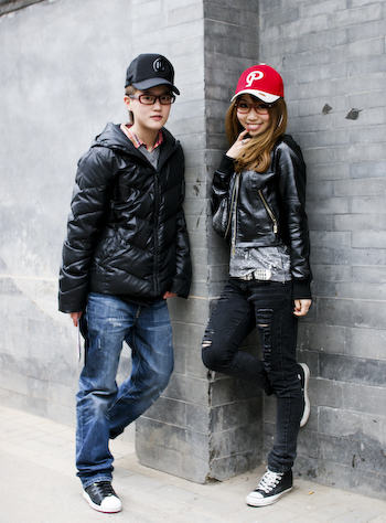 Trucker Hats Attract 被卡车帽吸引 China Androgyny1