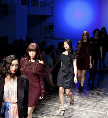 A Touch of Dali - and Paris EQ IQ Fall Winter 11 show at Yan Club 1 of 1 51