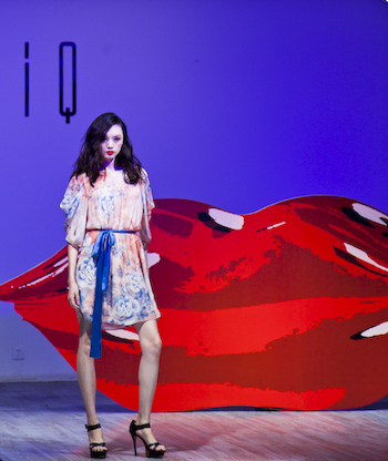A Touch of Dali - and Paris EQ IQ Fall Winter 11 show at Yan Club 1 of 11