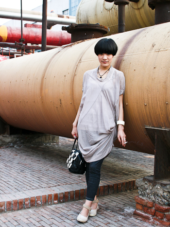 By the Chemical Tank Girl at Intro Electric Music Acupuncture Beijing Street Style                    51