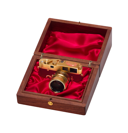 A Leica for China - 中国国庆限量版徕卡 Golden MP China in box1