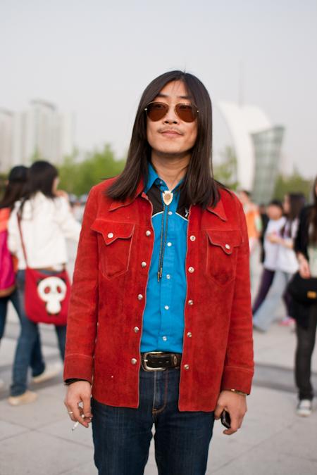Cowboy in Tongzhou Cowboy in Tongzhou IMG 80001