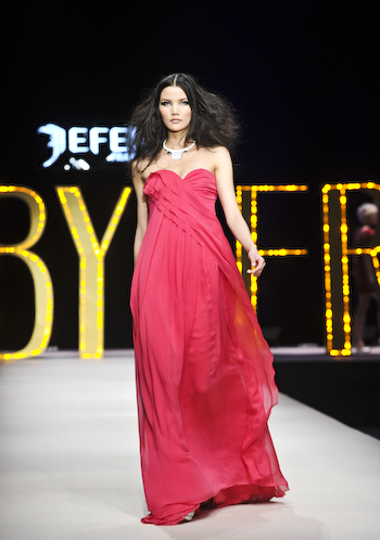 Frankie Xie, at Jefen Jefen by Frankie China Fashion Week 101