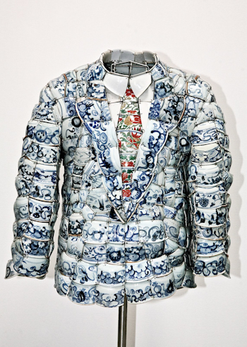 Earlier Work of Li Xiaofeng Lacoste x Li Xiaofeng collectors series 2010 Clothes 2008 Ming Periods Shards x50cm 11