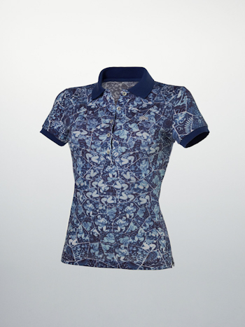 The Cotton Porcelain Polo Li Xiaofeng Lacoste holiday collectors series Printed Porcelain Woman Polo 11