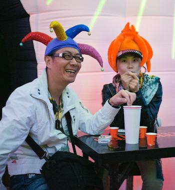 开心的人在摩登天空音乐节 P10308311