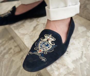 Velvet Slippers P10402723