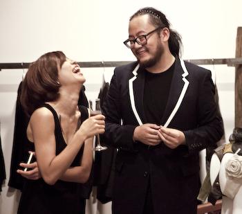 At the Vega Wang Media Opening  Vega Zaishi Sforzando Wang Store Opening Jianwai SOHO 1 of 1 311