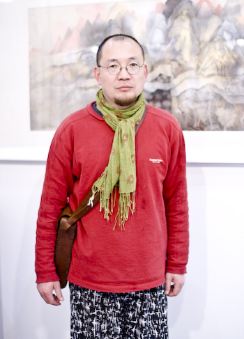 At Art Beijing  在艺术北京博览会 Wang Qiuren at Art Beijing                                  1