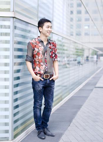 A Native Beijinger Designing Menswear Zhang Chi        Beijing Fashion Designer1