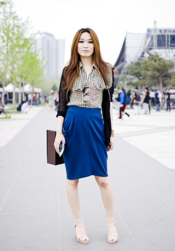 Picture Perfect Girl beijing street style fashion super stylish hipster girl 1 of 1 22