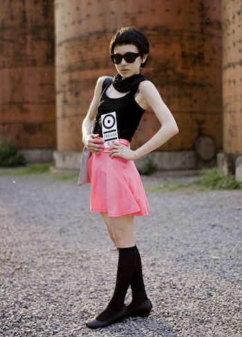 Pink that Pops beijing street style fashion super stylish hipster girl 1 of 1 32