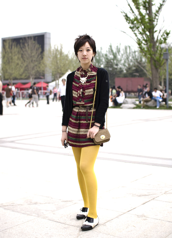 Well Edited Polychromasia beijing street style fashion super stylish hipster girl 1 of 111