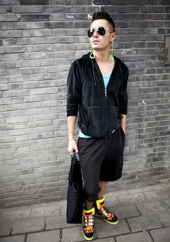 A Kazakh Design Student beijing street style fashion super stylish hipster girl 1 of 12