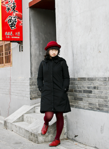 Red Brogue Girl designer girl on nanluoguxiang 1 of 1 21