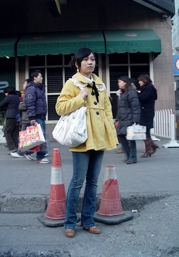 dsc02198-tc  Black Tie, Yellow Coat at Xidan dsc02198 tc1