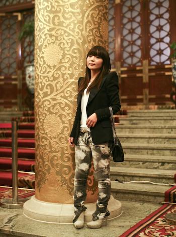 fashion week-7  Vivian Ying of Cocoon fashion week 711