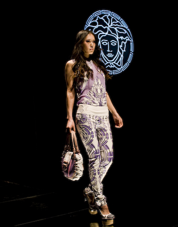 At the Versace Show, 798 grazia 21