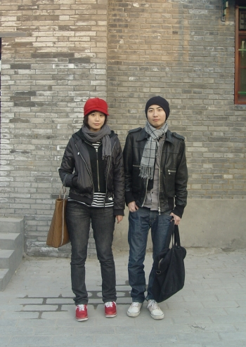 hipster-couple  Creative Types at Nanluoguxiang hipster couple1