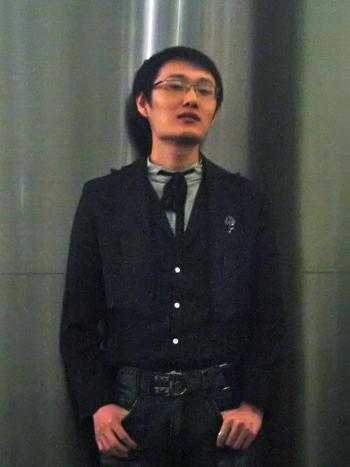 johnnie-dude  Cravatte and Glasses johnnie dude1