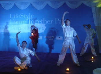 "opening-scene  Lifestyle ""Come Together"" Party opening scene1"
