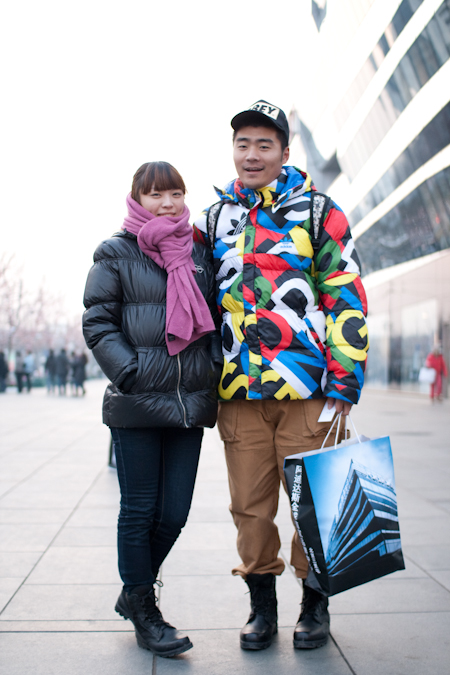 <!--:en-->The Puffers are Back<!--:--><!--:zh-->羽绒服回来了<!--:--> peter total and girlfriend1