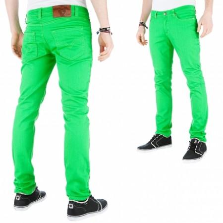 An Online Streetwear Bazaar An Online Streetwear Bazaar  raw blue basic skinny fit jeans green 74490