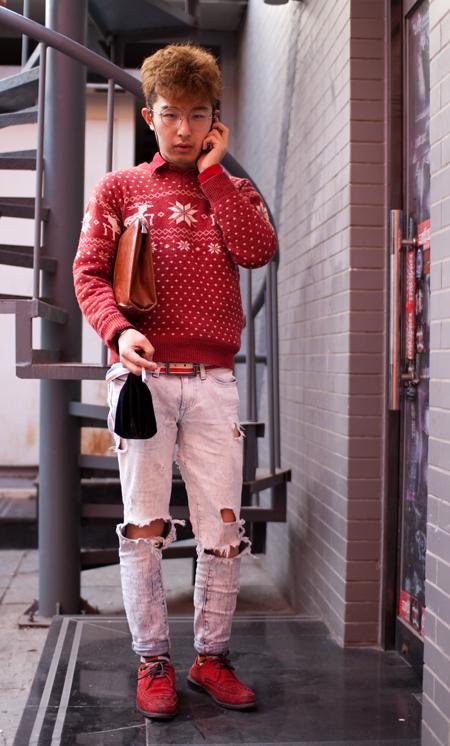 'Tis the Season red sweater full web1