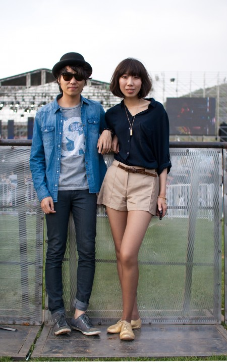 A Festival Couple stage